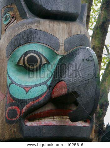 Totem Pole In Seattle