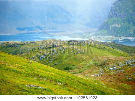 Hiking in Northern Norwa