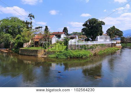 Colonial Town In Brazil