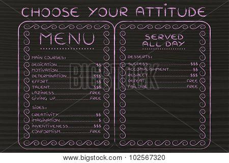 Choose Your Attitude