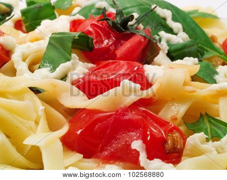 Pasta Collection - Tagliatelle With Cherry Tomatos