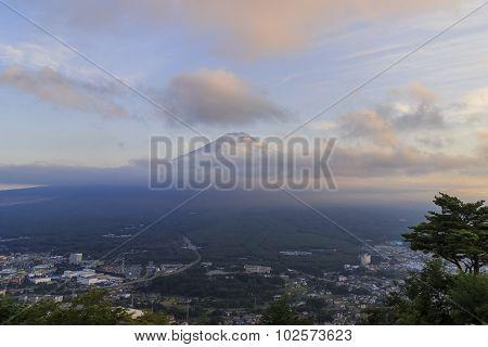 The Famous Mt. Fuji At Kawaguchi, Japan