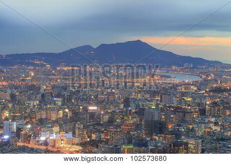 Aerial View Of The Crowd Taipei, Taiwan