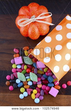 Halloween Party Trick Of Treat Candy