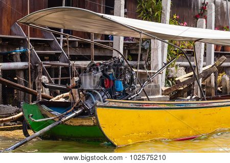 Longtail Boat Back