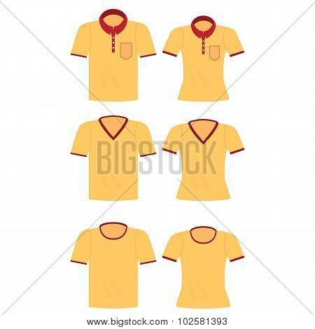 Yellow Shirt For Men And Women.