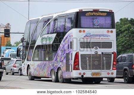 Travel Bus of Lampang Rattanapol Tour.