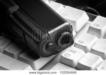 Gun And Computer