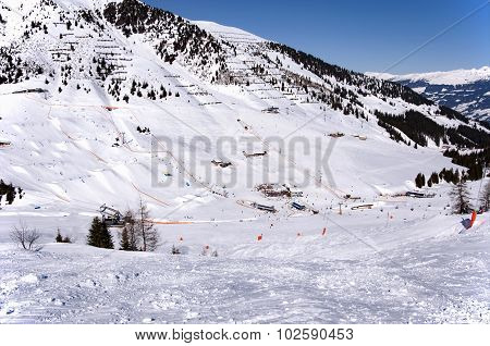 Ski Resort in Zillertal Alps