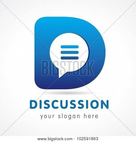 Discussion D logo