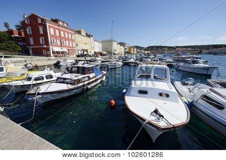 Port Of Mali Losinj, Croatia