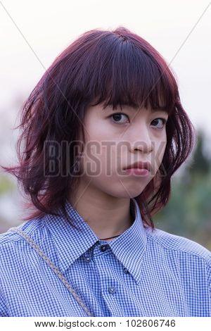 Beautiful Thai Girl Portrait