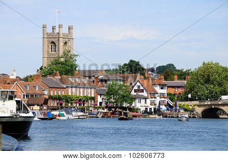 Riverside buildings, Henley-on-Thames.