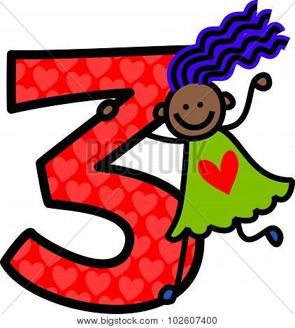 Number Three Girl