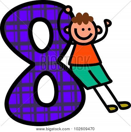 Number Eight boy
