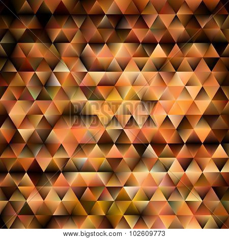 Abstract brown shiny geometric background