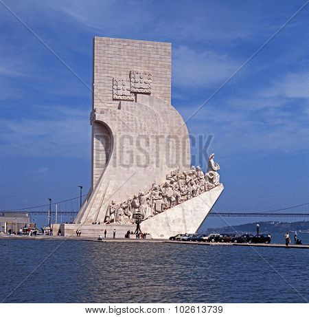 Discoveries Monument, Lisbon.