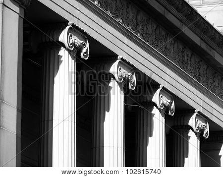 fancy pillars historic sheffield yorkshire  foundation