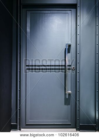 Metal Door security system