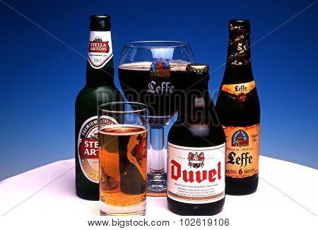 Belgian Beers.
