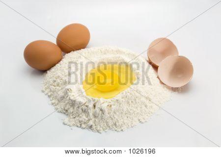 Egg And Flour