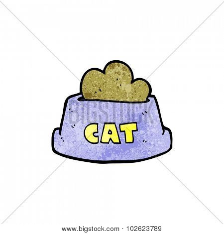 cartoon cat food