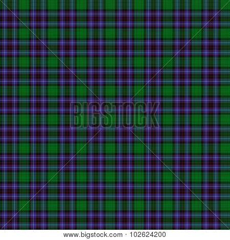 Clan Hunter Of Peebleshire Tartan