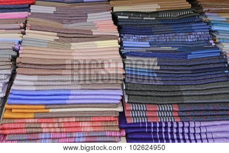 Scarves And Stoles And Fabrics For Sale In Shop