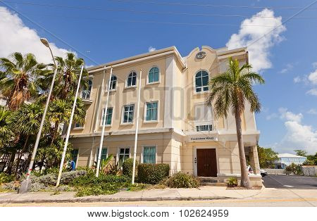 Caledonian House In George Town Of Grand Cayman Island