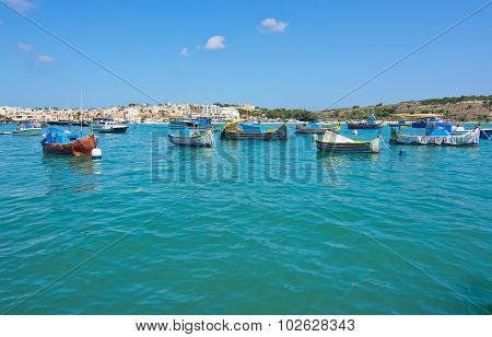 Colorful Boats Marsaxlokk