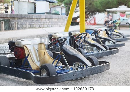 The image of a go-karts
