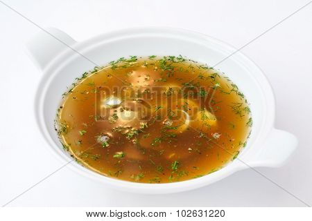 okroshka with kvass