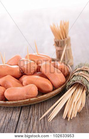 sausage, buffet food