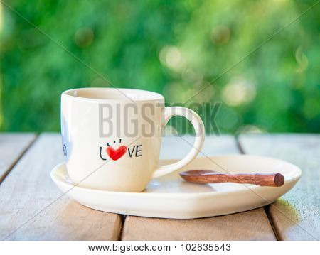 Love Coffee Cup