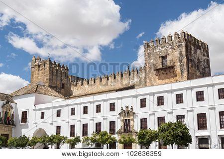 Castle View Of Arcos De La Frontera, Spain