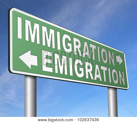 Immigration Or Emigration