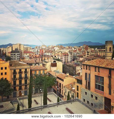City Center Of Girona, Catalonia