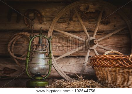 Rural retro still life
