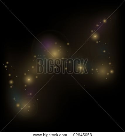 abstract background with cosmic dust