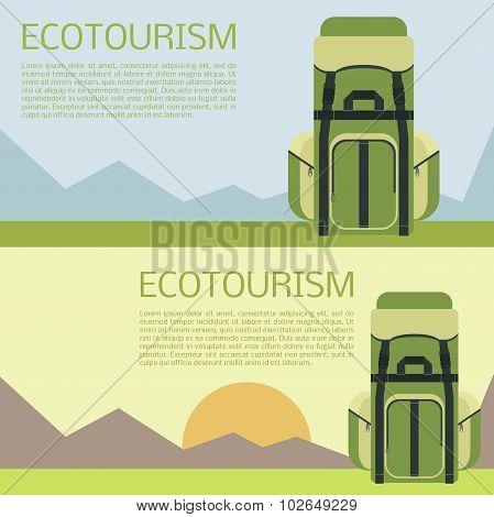 Ecotourism banner