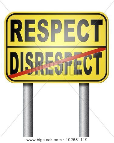 Respect Different Opinion
