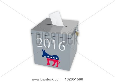 2016 Democratic Primary Ballot Box