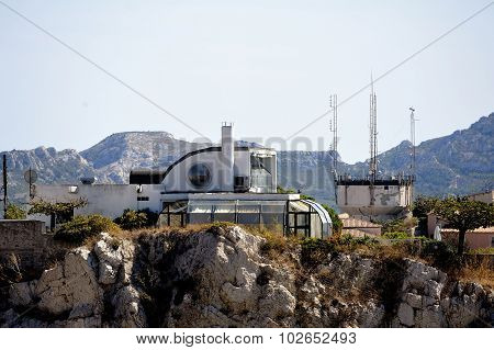 Modern Architecture On The Heights Of Marseille