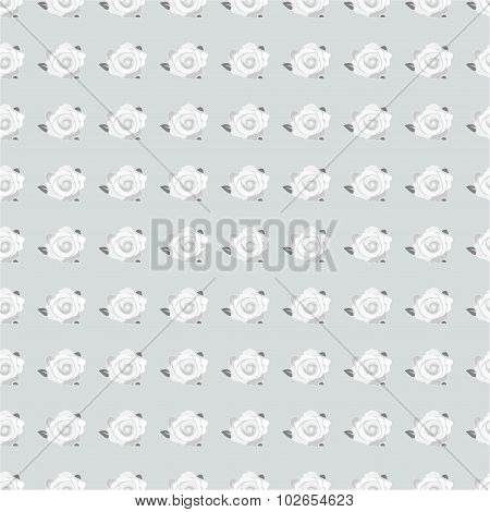 rose flower seamless pattern