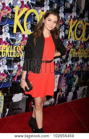 LOS ANGELES - SEP 23:  Emily Robinson at the KODE Magazine October 2015 Issue Party at the The Well on September 23, 2015 in Los Angeles, CA
