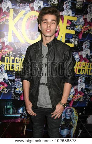 LOS ANGELES - SEP 23:  Dyllan Murray at the KODE Magazine October 2015 Issue Party at the The Well on September 23, 2015 in Los Angeles, CA