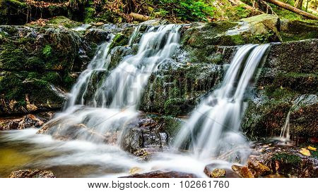 Ferrata HZS - water cascades