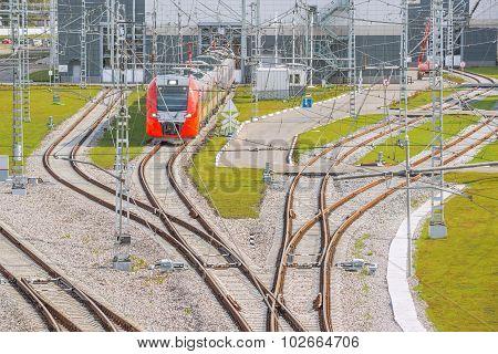 Railway Depot.
