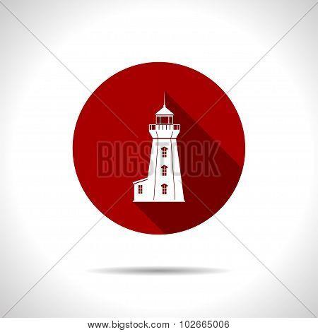 Vector lighthouse icon