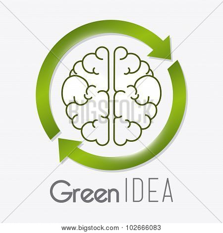 Go green ecology design.
